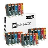 20 Druckerpatronen kompatibel zu HP 364 XL HP364 N9J74AE (4X Schwarz, 4X Photoschwarz, 4X Cyan, 4X Magenta, 4X Gelb)