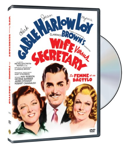 1936 Clark Gable (Wife Vs. Secretary DVD (1936) Clark Gable - Myrna Loy - Jean Harlow)