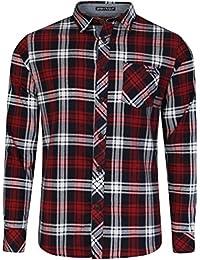 Tokyo Laundry Mens Long Sleeve Checked Shirt