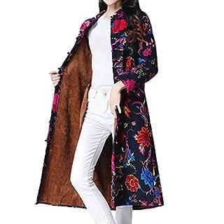 YIHANK Women Coat Jacket,Parka Folk-Custom Print Velvet Cotton Outwear Warm Long ThickColors Remover Blue Liners Trousers Rival Designs Ideas Cîroc Total Gym Casualx Warm Keep Overcoats