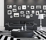SAM Sofa Arica in Schwarz mit weißem Akzent, ca. 200 cm breit, 2-Sitzer Couch, inkl. 2 Kissen, Designed by Ricardo Paolo