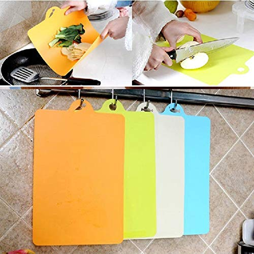 Cutting Board - 1pc Plastic Chopping Block Cutting Board Soft Bendable Antibacterial Can Be Hung Ware B - Japan Japanese Plastic Vertical Kansas Travel Drying Mineral Rack Board Index Chopping Block