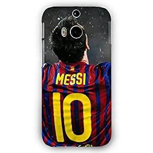 EYP Barcelona Messi Back Cover Case for HTC One M8