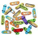 """MICHLEY """"Feliz Halloween"""" 24pcs Mini Monopatínes para Dedos de Plástico 3"""" para Niños"""