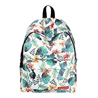 School Backpack - Belegao Boys Girls Teenagers School Bag Casual Printing Pattern Lightly Waterproof Kids Daypack 14 Inch Laptop Large Compartment Outdoor Travel Shopping Hiking Students Rucksack
