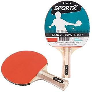 AK Sport SportX Tischtennis-Schläger, Rot