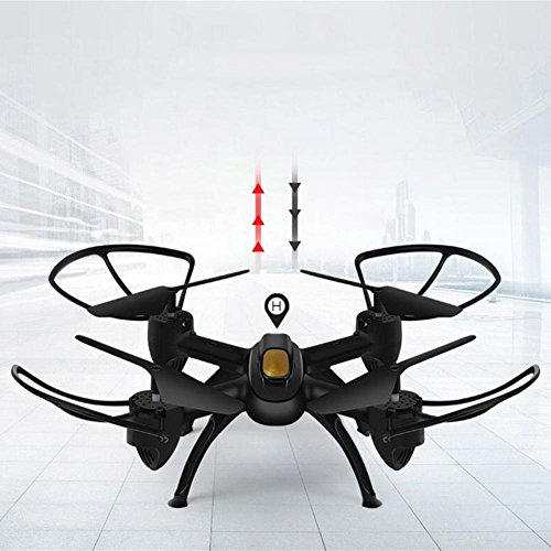 OOFAY® Drohne mit Kamera X19 Fernbedienung Quadcopter Luftdruck Set Hohe Antenne Drone WIFI Echtzeit Übertragung von Hubschrauber Spielzeug, Schwarz