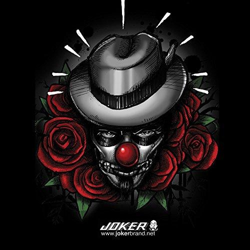 Apple iPhone 4 Case Skin Sticker aus Vinyl-Folie Aufkleber Joker - The Joker Blumen Hut DesignSkins® glänzend