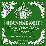 Hannabach 8157 LT Silver Special, 3-Bass Set