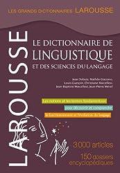Le dictionnaire de linguistique et des sciences du langage