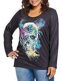 Y Camisetas Calaveras Amazon es Camisetas Tops vq4gnanWx