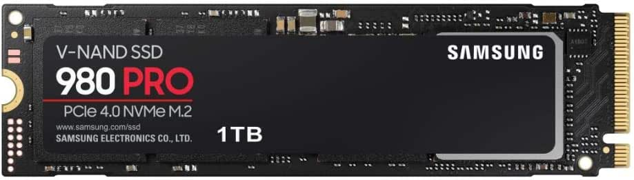 Samsung 980 PRO 1 TB PCIe 4.0 NVMe M.2 Internes Solid