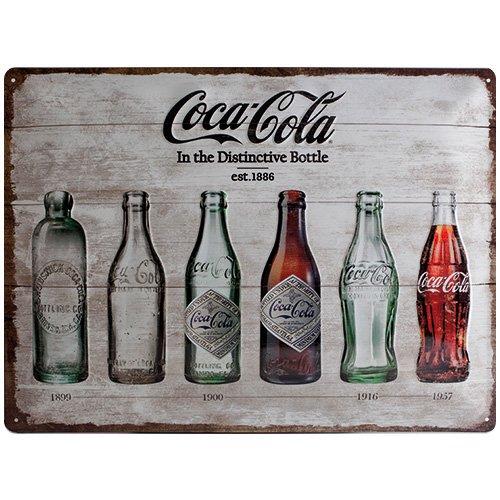 nostalgic-art-23207-coca-cola-bottle-timeline-blechschild-30-x-40-cm