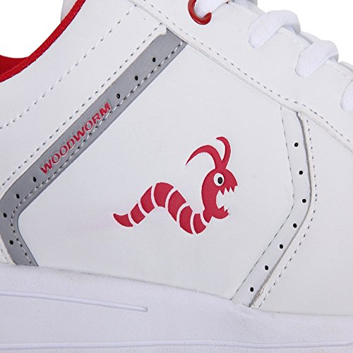 Woodworm Surge V2 Golf Shoe- White/Red Size 9