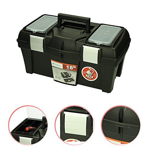 Werkzeugkoffer Viper 18'' 46x26x23cm Werkzeugkasten Sortimentskasten Werkzeugkiste Werkzeugbox Werkzeugtrage