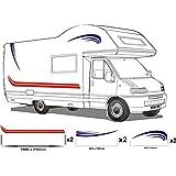 Rapido Camping Car Stickers Exterieur