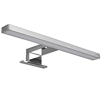 led over cabinet lighting. modern polished chrome tbar over cupboard cabinet led light 2700k warm white led lighting
