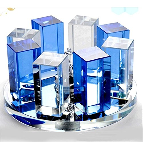 GZEDG Kristall verborgene Oberfläche montiert LED-Lampe Ganglichter Korridor Eingang Treppe Led Lampe Balkon Deckenstrahler ( Color : Blue+transparent )