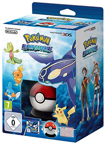 Pokémon Zaffiro Alpha Starter Box - Limited Edition - Nintendo 3DS