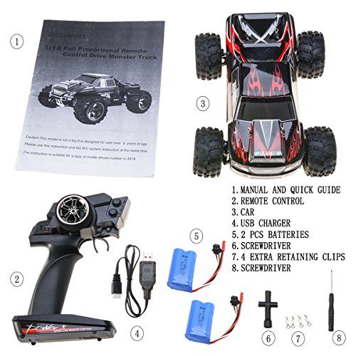 RC Crenova Monster Truck - 7