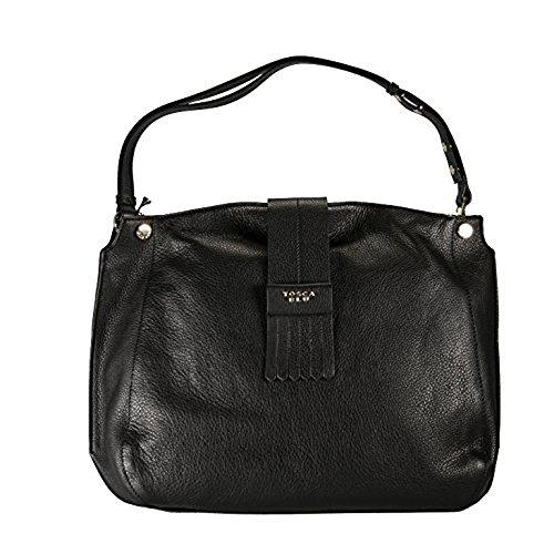 Tosca Blu , Sac pour femme à porter à l'épaule noir noir