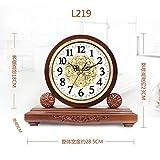 Y-Hui Die alte Master Clock Im Wohnzimmer, Schreibtisch, Wecker Schreibtisch Uhren Schlafzimmer zum Schweigen gebracht, die Uhrzeit Uhr Pendel-, L 219 Große