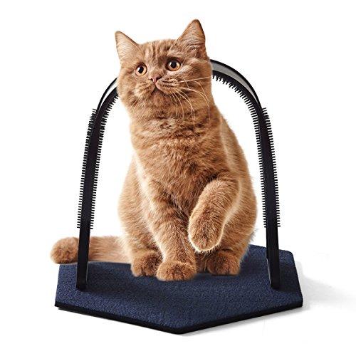FXY Arco masaje gatos gatos mascotas, peluca cerdas