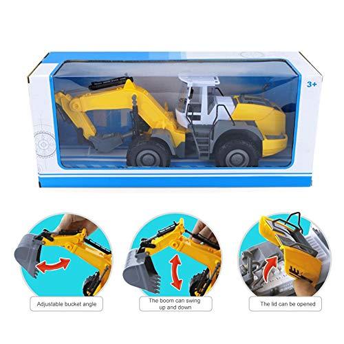 RC Auto kaufen Baufahrzeug Bild 6: RC ferngesteuerter bagger kinder Baufahrzeug für Kinder ab 3 Jahren Spielzeugauto Kranwagen Bulldozer Bagger Kinder*