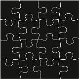 Marianne Design Craftables Puzzle-Stanzschablone und Prägeschablone für die Kartengestaltung und Scrapbooking, Steel, Grey 10 x 6.7 x 0.3 cm