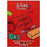 Les Fraises De Cuisine D'Ella + Pommes Nibbly Doigts Stade 3 À Partir De 12 Mois 5 X 25G - Lot De 2