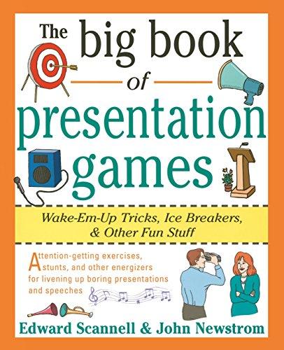 The Big Book of Presentation Games: Wake-Em-Up Tricks, Icebreakers, and Other Fun Stuff (Big Book Series) por John W. Newstrom