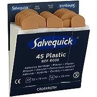Pflasterstrips elastisch Salvequick, Inhalt : 27 St. 7,2 x 1,9 cm 18 St. 7,, Ausführung : wasserfest preisvergleich bei billige-tabletten.eu