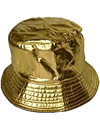 b843b041 Amazon.co.uk: Gold - Bucket Hats / Hats & Caps: Clothing