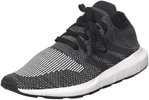 adidas Herren Swift Run Primeknit Fitnessschuhe, Schwarz (Negbas/Gricin / Brgrin 000), 43 1/3 EU
