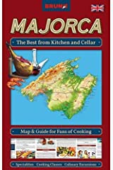 BRUNO Majorca Map and Guide for Fans of Cooking: The Best from Kitchen and Cellar: Specialities, Cooking Classes, Recipes, Insider Tips (BRUNO Special Interest Maps - The Instant Travel Guide) Map