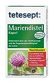 Mariendistel Kapsel, Traditionell pflanzliches Arzneimittel mit Mariendistelextrakt und einem hohen Gehalt an Silymarin – unterstützt die Regenerationsfähigkeit der Leber, 5 x 24 Stück