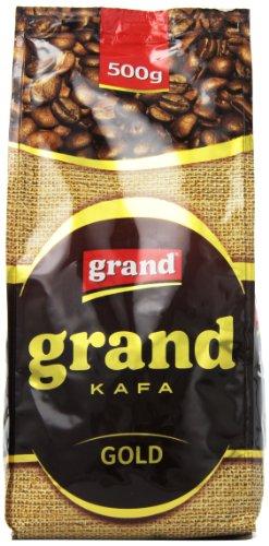Grand Kafa Kava Kaffee Gold gemahlen 500g Grand Prom