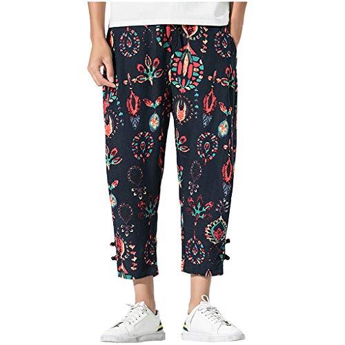 937ca5363a20 Ode-joy pantaloni harem da uomo cotton linen festival baggy boho zingara re  Scheda Completa