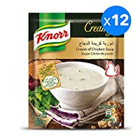 Knorr Packet Soup Cream of Chicken, 12 x 54 gm