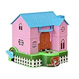 #9: Gion Money Saving Piggy Bank Stealing Coins Dogs Puppy House Piggy Coin Bank with Key Wind for Saving Money Box