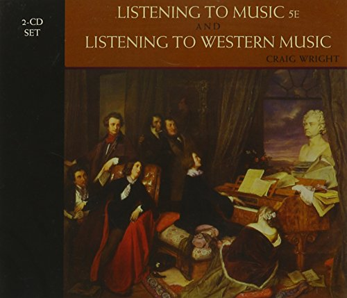 2-CD Set for Wright's Listening to Music, 5th and Listening to Western Music