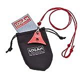 Logan Whistles A1Sport Sheepdog Lanyard Trillerpfeife und Segeln Kordel, rot