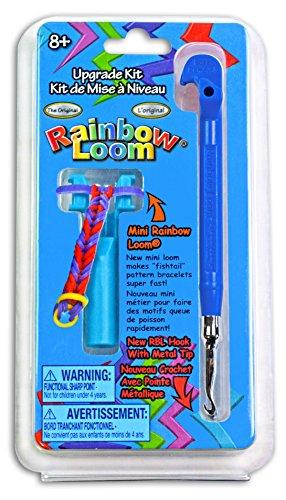 Webstühle Rainbow (Gerhardt Rüdiger RL714BLAU - Rainbow Loom Metallnadelset, Lern und Experimentierspielzeug, blau)