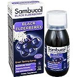 La baya del saúco negro, fórmula original, vitamina C y zinc, jarabe - Sambucol