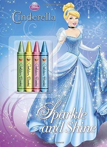 Sparkle and Shine (Disney Princess) (Color Plus Chunky Crayons)