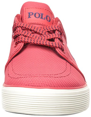 Polo Ralph Lauren Faxon Low Mesh Fashion Sneaker red