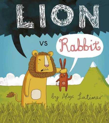 Lion vs Rabbit by Alex Latimer (7-Feb-2013) Paperback (Lion Vs Rabbit)