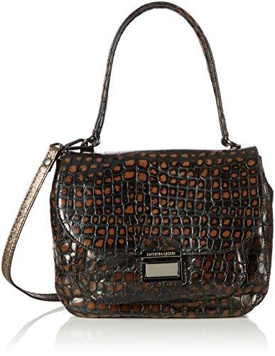 Womens Cocco Spazzolato Cross-Body Bag Caterina Lucchi Duho7dF