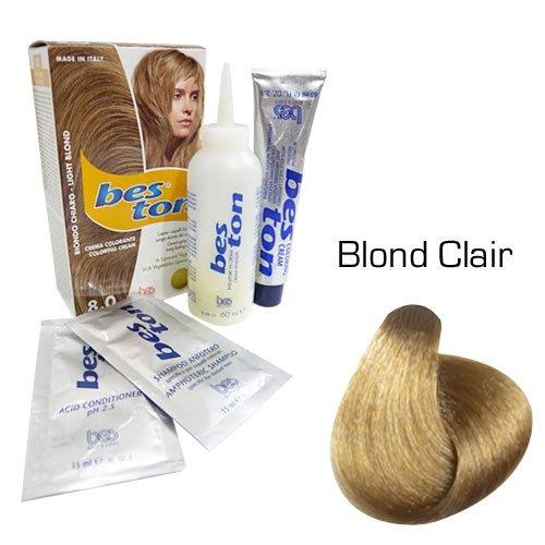 Kit coloration cheveux - Teinte Blond Clair