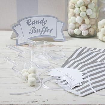 Amazon.de: Candy Bar Süßigkeiten Set für Hochzeit oder